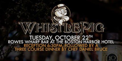 WhistlePig  Whiskey Dinner