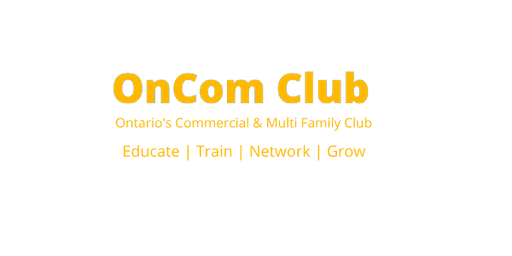 OnCom Club - Ontario Multi Family & Commercial Investment Club