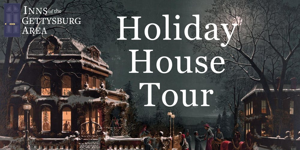 2019 Holiday House Tour and Tasting on gettysburg pennsylvania on us map, pennsylvania regions map, gettysburg manufacturing map, downtown gettysburg pa map, norhteast and southeast map, gettysburg trail map, winery map, gettysburg tourism map,