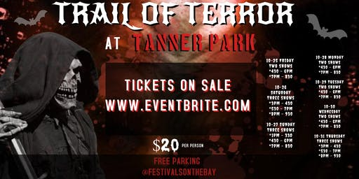 Long Island's Trail of Terror at Tanner Park