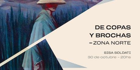 De Copas y Brochas ZONA NORTE @Sisa Soldati entradas