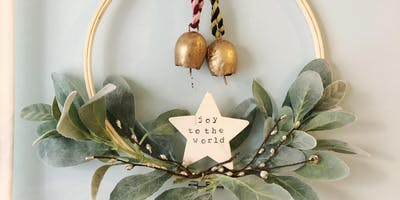 Fair Trade Wreath Workshop at West Elm