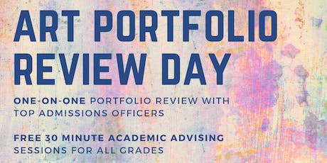 Arts Portfolio Day Review 2019 tickets