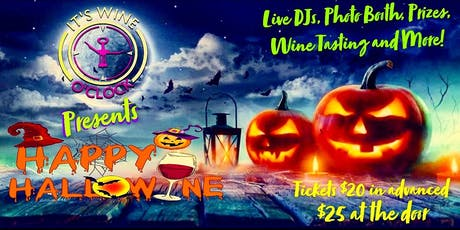 It's Wine O'Clock Presents Happy Hallowine! tickets