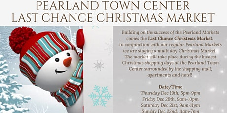 Last Chance Christmas Market tickets