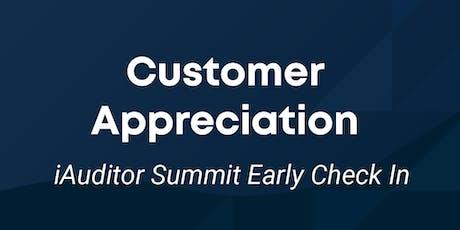 iAuditor Customer Appreciation Event tickets