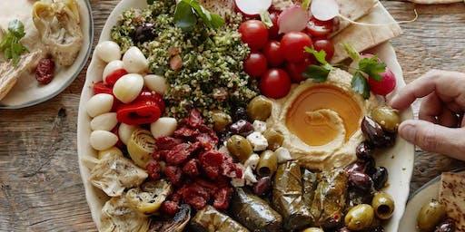 Cosmic Kitchen - Greek Vegan Mezze Night