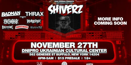 Bass Terminal Presents: Shiverz tickets