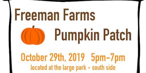 Freeman Farms Pumpkin Patch
