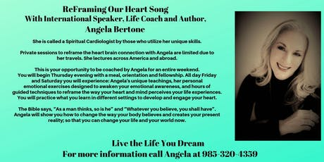 Re-framing  Our Heart's Song Women's Retreat tickets