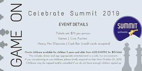 Celebrate Summit 2019 tickets