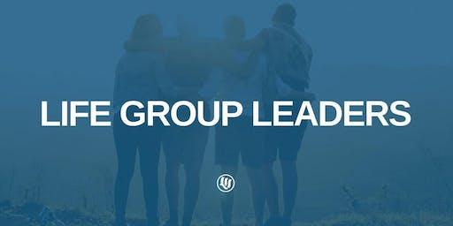 Life Group Leader Dinner