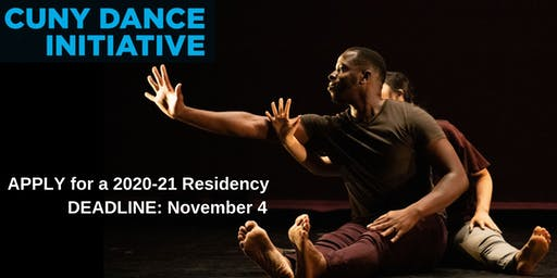 CUNY Dance Initiative: 2020-21 Application Information Session