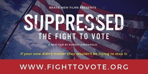 Screening - Suppressed: The Fight to Vote