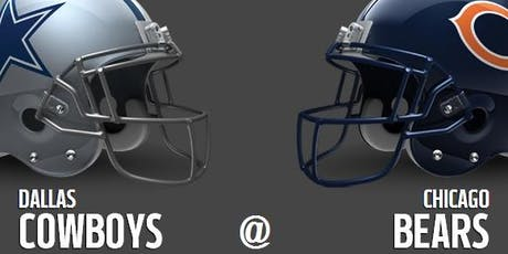 Cowboys vs Bears Watch Party | 12.5 tickets