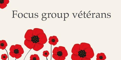 Focus Group Vétérans