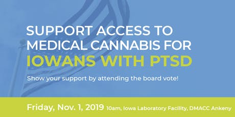 Med. Cannabis Board Meeting: PTSD Vote tickets