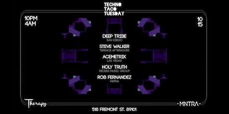 Techno Taco Tuesday Friends & Family tickets