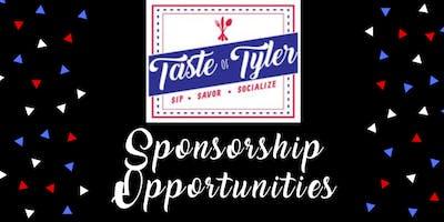 36th Annual Taste of Tyler Sponsorship