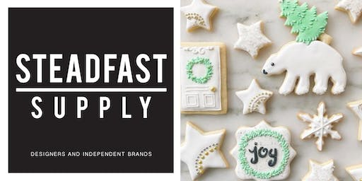COOKIE DECORATING WORKSHOP, HOSTED BY MEGHAN BAKES