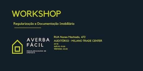 3 ° Workshop Regularização e Documentação Imobiliária ingressos
