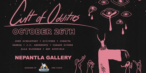 The Gallery Presents: Cult of Oddities