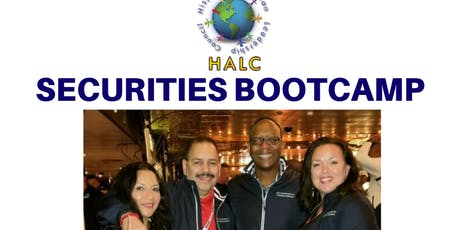 HALC Securities Bootcamp tickets