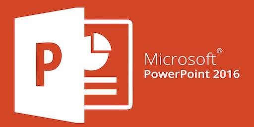 Microsoft PowerPoint 2016 Introduction Workshop