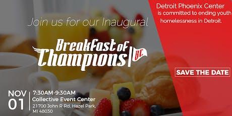 Breakfast of Champions - Stakeholders Appreciation Breakfast tickets