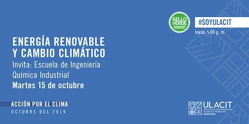 SELLO VERDE: Energía Renovable y Cambio Climático