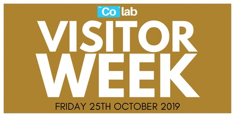 The Co Lab Visitor Day 25th October tickets