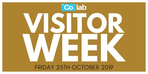 The Co Lab Visitor Day 25th October