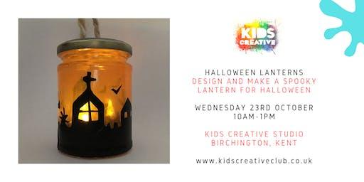 Halloween Lantern Making - Children's Workshop