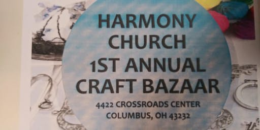 1st Annual Holiday  Craft Bazaar @ Harmony Church