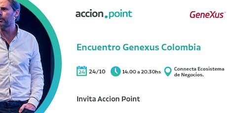 Encuentro GeneXus Colombia entradas