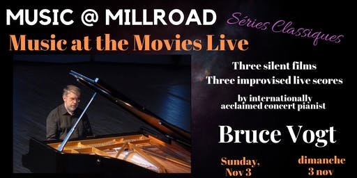 Music @Mill Road presents Music and the Movies Live with Bruce Vogt