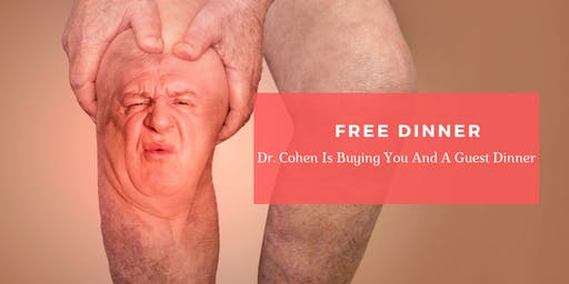 Joint Pain Breakthrough | FREE Dinner Event with Dr. Michael Cohen, DC