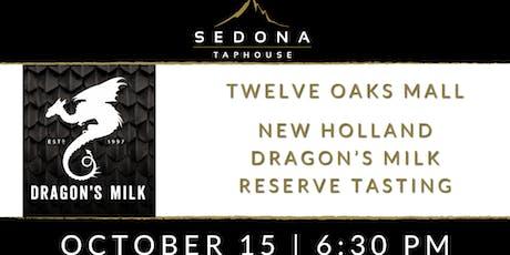 New Holland Dragon's Milk Reserve Tasting tickets