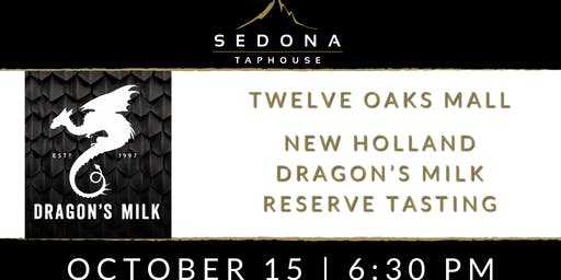 New Holland Dragon's Milk Reserve Tasting
