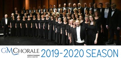 2019-2020 GMChorale 2-Concert Season Subscription