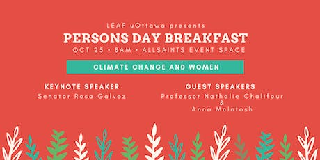 LEAF Ottawa Persons Day Breakfast 2019 tickets
