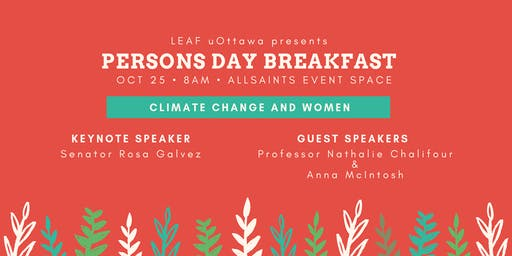 LEAF Ottawa Persons Day Breakfast 2019