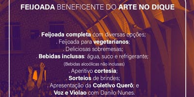 Feijoada Beneficente do Arte no Dique