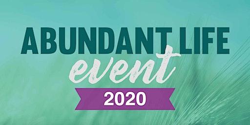 Abundant Life Event 2020