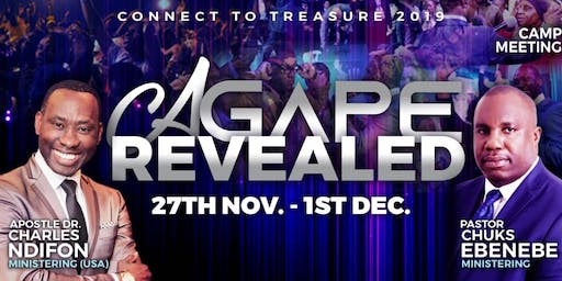 CONNECT TO TREASURE 2019 - AGAPE REVEALED