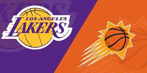 LA Lakers vs. Phoenix Suns at the STAPLES Center