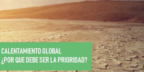 Calentamiento global ¿Porqué debe ser la prioridad? entradas