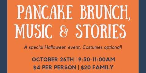 Pancake Brunch, Music & Stories