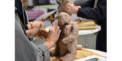 Clay and Mixed Media Sculpture (4 hours) (2020-03-16 starts at 11:00 AM)