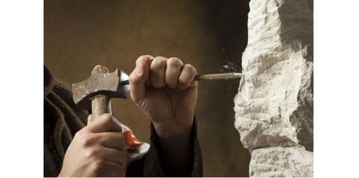 Hammer & Chisel Stone Carving Series for Beginners (2019-11-14 starts at 10:00 AM)